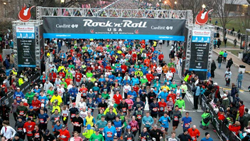 #7 Sports Event More than 25,000 runners participate in the only marathon course entirely within the District of Columbia. This year the race changed its starting and finish lines, ending the race at RFK Stadium where there is a concert and festival for runners and their supporters. Next: March 15, 2014