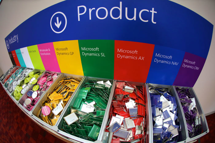 At Microsoft Convergence in March, organizers offered buttons to help like-minded attendees more easily identify and network with one another. Buttons can be a simple and inexpensive way to help attendees share their pride in attending an event.