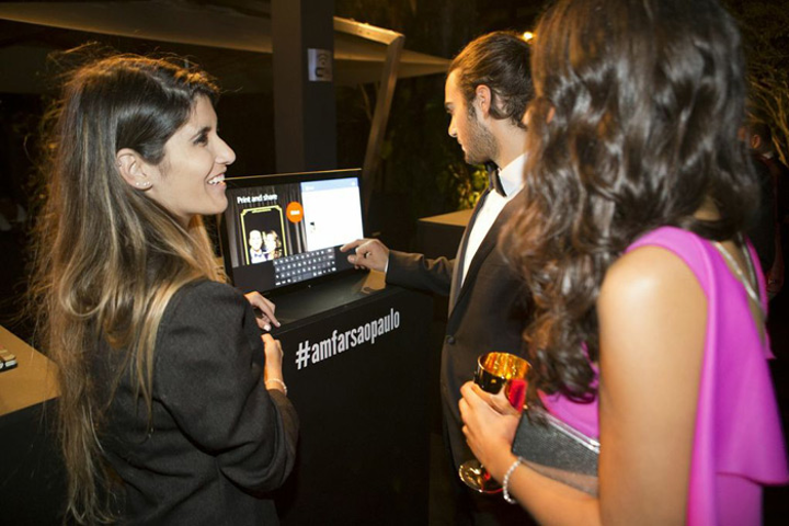 More fund-raising organizers, like those behind Amfar's São Paulo gala, are using social media to promote their efforts and engage guests.