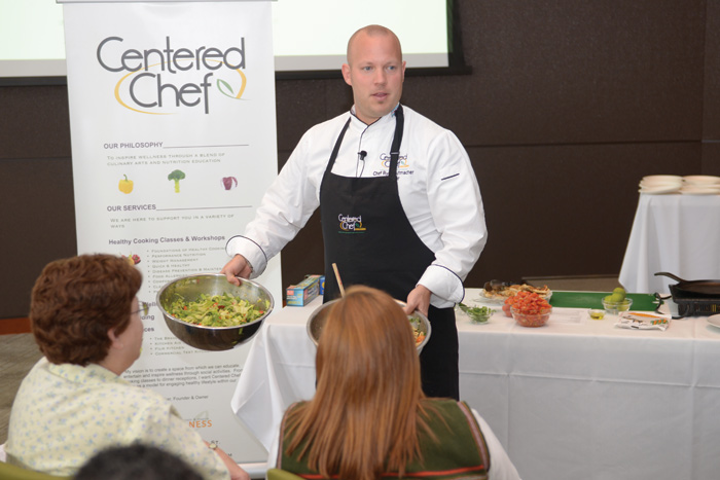 Ryan Hutmacher, owner, Centered Chef