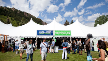 Aspen, Colorado #7 Food & Restaurant Industry Event About 5,000 people attend the culinary gathering in Colorado's affluent mountain playground. Held during the same time is the American Express Restaurant Trade Program, an educational and networking event for hospitality professionals that marked its 25th year in 2014. Next: June 19-21, 2015