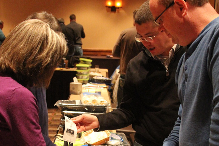 A group event organized by CBST Adventures in Denver involved assembling ­disaster relief kits.