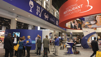 Chicago #3 Trade Show The massive foodservice trade show at McCormick Place, which is co-located with the International Wine, Spirits, and Beer event, draws nearly 64,000 attendees. The show notched its third consecutive year of growth in 2014. Next: May 16-19, 2015