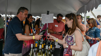 """#6 Food, Wine & Restaurant Industry Event More than 40,000 guests attended the seventh edition of the festival, which includes both indoor and outdoor events. The cooking stage featured top local chefs such as Mike Isabella, Bryan Voltaggio, and Rahman """"Rock"""" Harper. Next: May 2-3, 2015"""