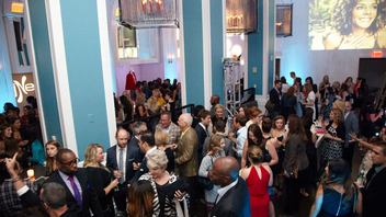 #2 Fashion & Beauty Event This year, with 350 fashionably attired guests—as well as mannequins outfitted by Bloomingdales—the magazine celebrated its fashion-focused September issue at W Washington's new restaurant, Pinea. Next: September 2015