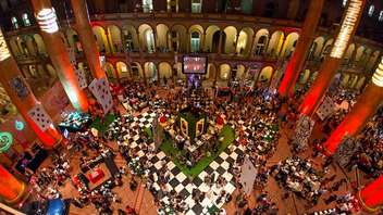 #2 Literary & Publishing Event The magazine chose an Alice in Wonderland theme for the event, which mixes food and beverage stations with sponsor activations from the likes of BMW, Patrón, and title sponsor AT&T. Next: July 2015