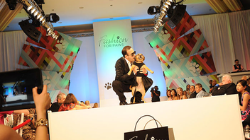 #1 Fashion & Beauty Event The canine-theme fashion show made major changes this year, cutting its guest list, changing event producers, and switching venues from the National Building Museum to the Omni Shoreham Hotel. The event raised less money than in previous years but still drew a sold-out crowd of 1,000 people. Next: April/May 2015