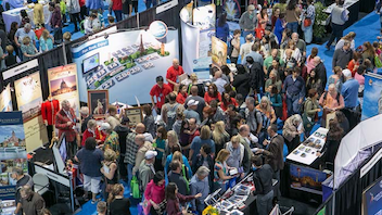#5 Trade Show & Convention The show marked its 10th anniversary in 2014, and attendees at the consumer expo at the Walter E. Washington Convention Center could hear from travel writer Rick Steves and visit booths from more than 100 exhibitors. Next: March 7-8, 2015