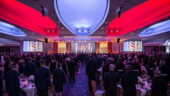 #11 Benefit The salute to the nation's service men and women drew 950 guests to the Washington Hilton and raised $1.6 million last year. This year, comedian Aisha Tyler will serve as M.C., and country singer Kellie Pickler will perform. Next: October 17, 2014