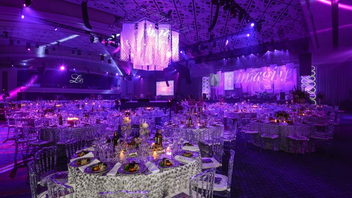 #3 Benefit The Leukemia & Lymphoma Society's benefit gala raised $3 million and featured headlining entertainment from Huey Lewis and the News. It also announced Pharmaceutical Research and Manufacturers of America as presenting sponsor of three balls, starting in 2014. Next: March 28, 2015