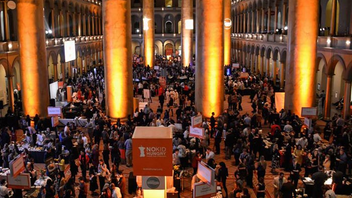 #4 Food, Wine & Restaurant Industry Event The culinary benefit, which supports the No Kid Hungry campaign, fills the National Building Museum with guests who sample fare from more than 70 bars and restaurants, such as Blue Duck Tavern, B Too, and District Doughnut. Next: April 13, 2015