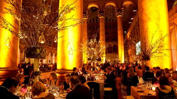 """#6 Benefit More than 1,000 guests gathered for the 20th annual gala, which raised a record $1.7 million. The event's theme was """"Graceful, Gracious Japan,"""" and event designer and board member David Tutera created a Japanese garden in the National Building Museum. Next: March 6, 2015"""
