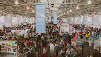 #3 Art & Design Event Held twice annually, the craft fair is a network of events surrounding the D.I.Y. community. Hundreds of craft businesses have launched at the fair, which draws 25,000 guests a year. Next: Summer 2015