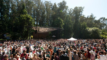 #8 Music Event The 10-week concert series takes place in a grove in Golden Gate Park. The event offers free performances, and last season's talent included Smokey Robinson, Rufus Wainwright, and the San Francisco Symphony. Attendance in 2014 was 90,000 guests. Next: June 14-August 16, 2015