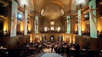 #3 Benefit In 2014, all three components of the event—the pre-ballet dinner, the performance, and the after-party—were sold out. The dinner drew 955 gusts; the performance saw more than 3,300; and the after-party had a crowd of 2,450. The event raised $2.6 million for the ballet. Next: January 22, 2015