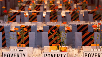 #1 Benefit Some 1,200 tech and investment leaders attended the benefit for the poverty-fighting organization in 2014, and the gala raised $12 million. Held at Pier 48, the gala featured a light show; a dancing robot performed when the initial $7 million fund-raising goal was beat. Next: Spring 2015