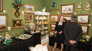 #6 Art & Design Event Some 10,000 collectors attend the annual show, which features approximately 60 vendors from the United States and Europe. The oldest international arts and antiques show on the West Coast, it sells everything from furniture to paintings and jewelry. Next: October 2015