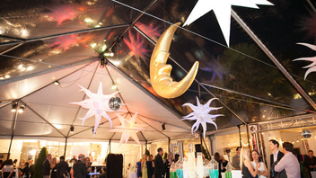 #13 Benefit In 2014, the two-day function, which features an auction and a shopping marketplace, raised more than $300,000 to help improve the behavioral health of children, youth, and families. The event included a disco party and a luncheon. Next: May 5-6, 2015