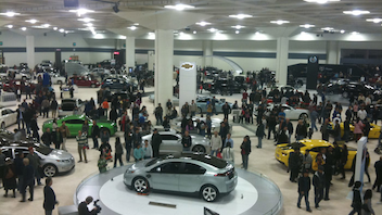 #1 Trade Show & Convention The massive auto show, which features more than 800 vehicles from 37 manufacturers—including Audi, Bentley, and BMW—will mark its 57th year in 2015. The event fills 1.2 million square feet of the Moscone Center. Next: November 22-29, 2014