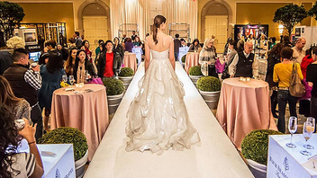#3 Trade Show & Convention More than 75 elite wedding professionals exhibit at the high-end fair, which takes place at the Four Seasons Hotel. Guests sip chilled champagne while checking out cakes from top chefs, calligraphy, honeymoon destinations, and more. Next: January 4, 2015
