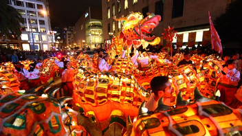 #3 Parade, Holiday Event & Fair Presented by Southwest Airlines, the gathering is billed as the largest Chinese New Year celebration outside of China. The festive gathering—a tradition since the 1860s—draws more than 400,000 attendees each year. Next: March 7, 2015