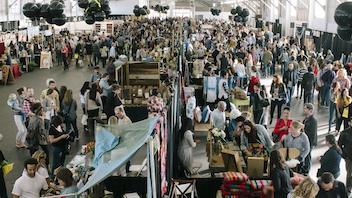 #5 Art & Design Event The craft and design show features artists, designers, and craftspeople whose work is inspired by the West Coast lifestyle. Attendance is free and open to the general public. The 2013 event had 175 vendors and 10,000 attendees. Next: December 6-7, 2014