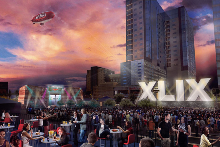 Verizon Super Bowl Central will take place in downtown Phoenix January 28 to February 1, one of several events surrounding Super Bowl XLIX.