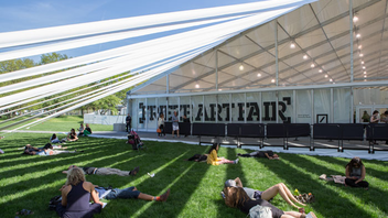 #5 Art, Design & Architecture Event (up from #6) Held on Randall's Island and sponsored by Deutsche Bank, the four-year-old contemporary art fair showcasing nearly 200 galleries from more than 30 countries drew 40,000 attendees in 2014. Next: May 14-17, 2015