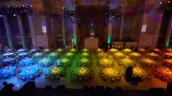 #14 Benefit More than 750 guests came together at Cipriani Wall Street to honor Carly Cushnie and Michelle Ochs, listen to a performance by Ziggy Marley, and raise $2.5 million at the evening's live auction. Next: November 2015