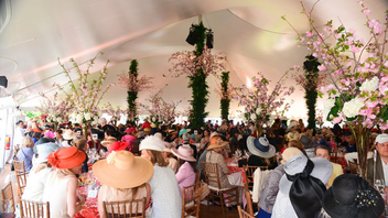 #10 Benefit The daytime gathering of some 1,300 of New York's high society—and nearly as many fanciful hats—raised $3.5 million for Central Park last year, and paid honors to outgoing Mayor Michael Bloomberg. Next: May 6, 2015