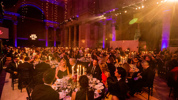 #9 Benefit (up from #11) The unofficial kickoff to Fashion Week draws 700 guests to Cipriani Wall Street. The entertainment and fashion insiders who attend have collectively raised $15 million for AIDS research. Next: February 2016
