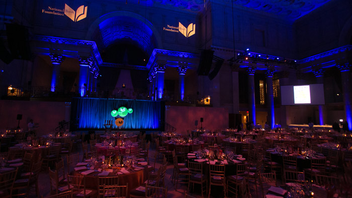 #4 Media Event The National Book Foundation's annual award ceremony turns 65 this year. In 2014, 700 guests gathered at Cipriani Wall Street to honor publishing's best and brightest. Next: November 18, 2015
