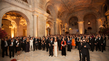 #8 Benefit Last year, the annual gala to benefit the library honored literary notables Margaret Atwood, Dave Eggers, Kazuo Ishiguro, Robert B. Silvers, and actress and academic Anna Deavere Smith. Next: November 2, 2015