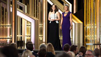 Los Angeles #4 Award Show The 72nd edition of the boisterous dinner awards from the Hollywood Foreign Press Association boosted its ratings this year, drawing 19.3 million viewers who watched Tiny Fey and Amy Poehler wrap up a successful three-year run as hosts. Next: January 10, 2016