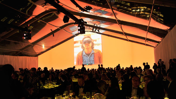 Los Angeles #4 Benefit Raising more than $3 million in 2015, the museum's benefit draws a reliably A-list guest list of artists and celebrities. Sponsored by Louis Vuitton, this year's event honored John Baldessari and featured an after-dinner performance by Janelle Monáe. Next: Spring 2016