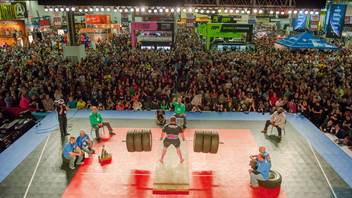 Columbus, Ohio #6 Trade Show Arnold Schwarzenegger's fitness event and trade show draws 175,000 people to watch athletes compete in more than 50 events. The event has expanded globally, with locations in Europe, Brazil, and, new in 2015, Australia. Next: March 4-6, 2016