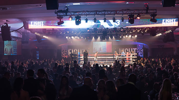 Washington #10 Benefit (new to the list) Now in a multiyear partnership with Under Armour, the Fight for Children's boxing-theme benefit reached new heights in 2015, raising $4.7 million. It also marked the 25th anniversary of the event, which features matches between boxers with the World Boxing Council. Next: November 5, 2015