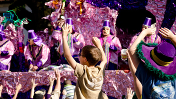 New Orleans #3 Festival, Parade & Holiday Event The cultural festival collectively known as Fat Tuesday, the indulgent celebrations before Lent begins on Ash Wednesday, is synonymous with New Orleans. Crowds line the streets for elaborate parades led by private clubs known as krewes, the first of which dates back to 1857. Next: February 9, 2016