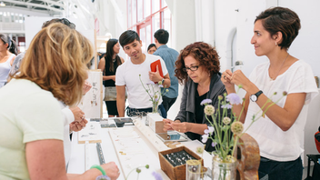 #4 Art & Design Event Hundreds of craft businesses have launched at the twice-annual fair, which draws 25,000 guests a year. Events also happen in other cities around the world including London, New York, Los Angeles, and Chicago. Next: November 21-22, 2015