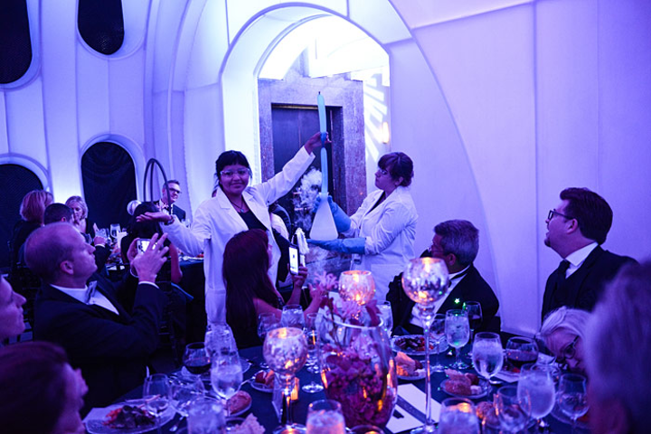 Celestial Ball Young Scientists Courtesy Of Adler Planetarium And Timre Surrey Photography