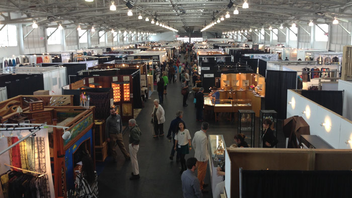 #7 Art & Design Event The three-day event focuses on handmade objects. Held at the Fort Mason Center, the juried craft show offers jewelry, clothing, and more from 225 American artists. Next: Summer 2016