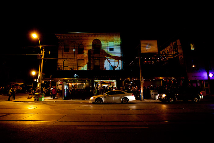 The Toronto International Film Festival takes place September 10 to 20 this year, and the Drake Hotel (pictured during the 2013 festival) will once again host related events.