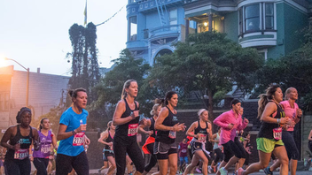 #4 Sports Event (up from #5) Some 25,000 runners raise funds for the Leukemia and Lymphoma Society as part of the 13.1-mile race. Nike Plus members have access to registration, training, and race-day experiences; there's also a dedicated app for the marathon. Next: October 18, 2015