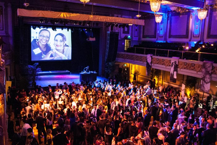 The annual Glide Legacy Gala, held in San Francisco, attracts a core audience of 25- to 40-year-old guests from industries ranging from technology to politics.