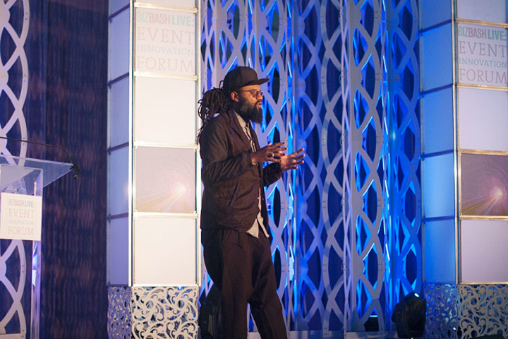 Coltrane Curtis, founder and creative director of Team Epiphany, says influencer marketing is a brand's most effective tool to reach consumers. He spoke at the Event Innovation Forum in New York.