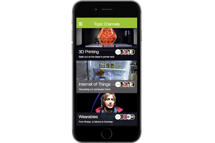Event apps such as the one provided by DoubleDutch are facilitating connections based on personal interests and hobbies.