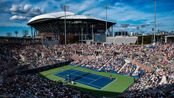 New York #5 Sports Event (up from #6) In 2016, Stan Wawrinka won in the men's division, while Angelique Kerber triumphed in the women's division. Around 700,000 fans attend the United States Tennis Association's marquee event. ESPN and the Tennis Channel televise the event, which addressed past rain delays with a new retractable roof over Arthur Ashe Stadium, a new 8,000-seat Grandstand stadium, and an extensive renovation of the grounds of the U.S.T.A. Billie Jean King National Tennis Center. New food offerings were designed to appeal to the tournament's upscale crowd and included an oyster bar and dishes from chefs such as David Chang, Ken Oringer, and Jamie Bissonnette. Next: August 2017