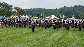 #11 Parade, Walk & Festival (new to the list) A celebration of Scottish culture, the 43rd annual event was held September 3 and 4 at Great Meadow in the Plains, Virginia. About 15,000 people attended. The games programming for the event included competitions for bagpipes, Highland dancing, fiddling, children's games, Scottish dogs, and a car and bike show. The festival included exhibits for Scottish clothing, bagpipe accessories, jewelry, food, collectibles, music, and fine art from about 30 vendors and crafters. Next: Fall 2017