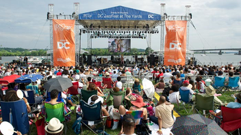 #6 Art & Entertainment Event (up from #7) Nearly 76,000 people attended at least one concert during the 2016 DC Jazz Festival—a 19 percent increase from 2015. This year's event, which took place June 10 to 19 in various locations, included 142 performances that included Kurt Elling, Maceo Parker, and Regina Carter Quartet. Produced by Events DC, the festival, also known as DC JazzFest, this year had a salutes to Howard University Jazz, as well as Singin' in the Parks, a free series celebrating the 100th anniversary of the National Park Service. Next: June 2017