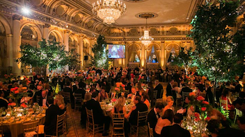 #12 Benefit Now in its 10th year, the Society of Memorial Sloan Kettering Cancer Center Spring Ball will be sponsored by Carolina Herrera and held once again at the Plaza Hotel. Last year's evening of dinner and dancing raised more than $1.3 million for the hospital. Next: May 9, 2017